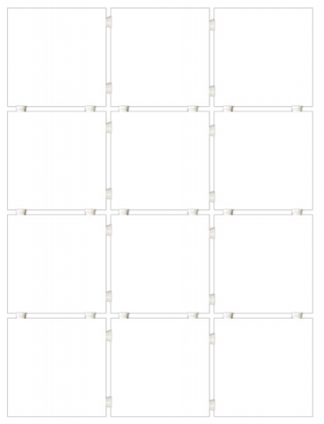 Мозаика Kerama Marazzi Конфетти 1146T (9,9x9,9) 30x40