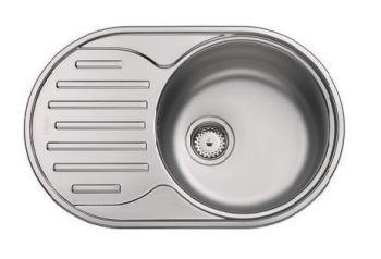 Мойка кухонная Franke Polar PXL 611-71 сталь (101.0443.084)
