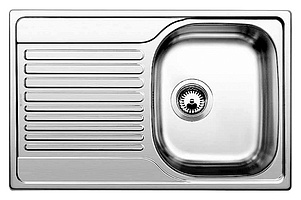 Мойка кухонная Blanco Tipo 45 S Compact сталь матовая (513441)