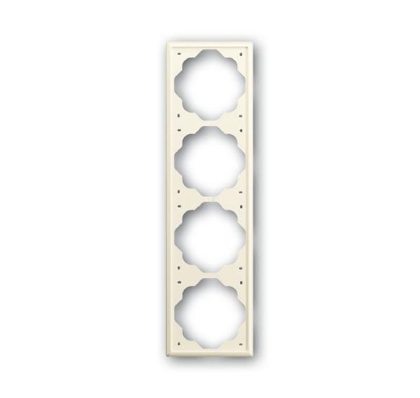 Купить со скидкой Рамка ABB Impuls 1754-0-4315 Слоновая кость (4 поста)