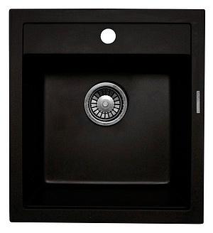Мойка кухонная Lava Q1 черный (Q1.BAS)