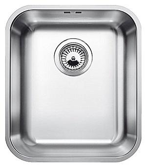 Купить со скидкой Мойка кухонная Blanco Supra 340 U сталь с клапаном (518200)