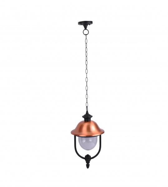 Потолочный уличный светильник Arte Lamp Barcelona A1485SO-1BK