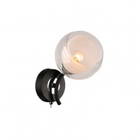 Бра IDLamp 845 845/1A-Blackchrome