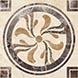 Вставка Ceramica Classic Tile Illyria Vendom 6,6x6,6