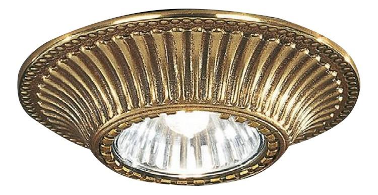 Встраиваемый светильник Reccagni Angelo 1078 SPOT ORO