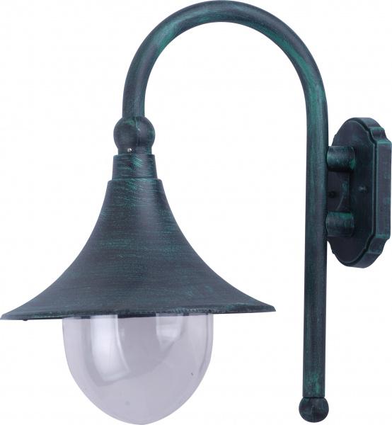 Настенный уличный светильник Arte Lamp Malaga A1082AL-1BG, Италия