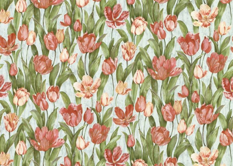 Виниловые обои Bellissima Tulipani 20765, Tulipani 20765