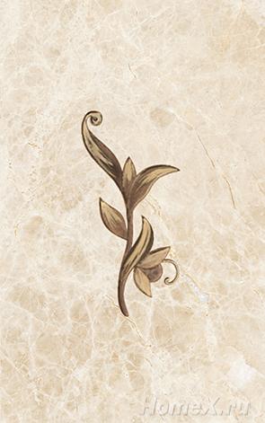 все цены на Декор Ceramica Classic Tile Illyria Cappuccino Dec 25x40 онлайн
