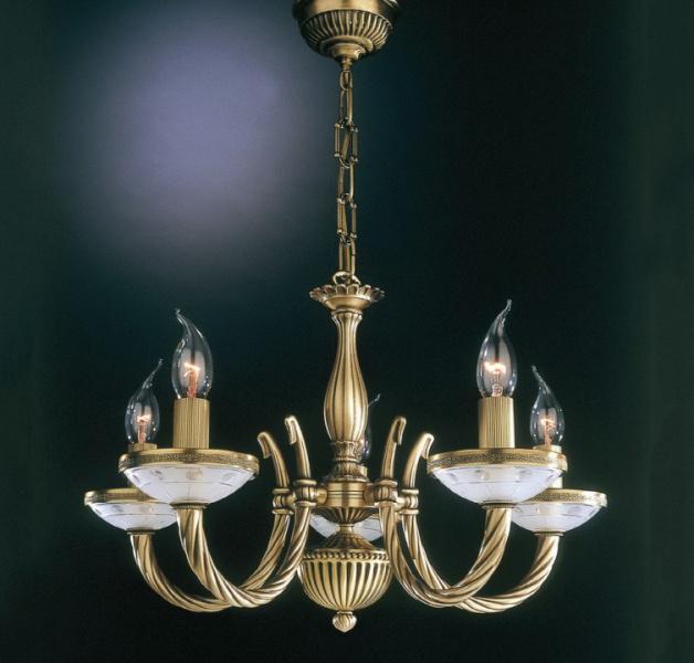 Подвесная люстра Reccagni Angelo Bronze 4650 L 4650/5