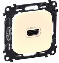Купить со скидкой HDMI розетка Legrand Valena Allure 754716 Бежевый
