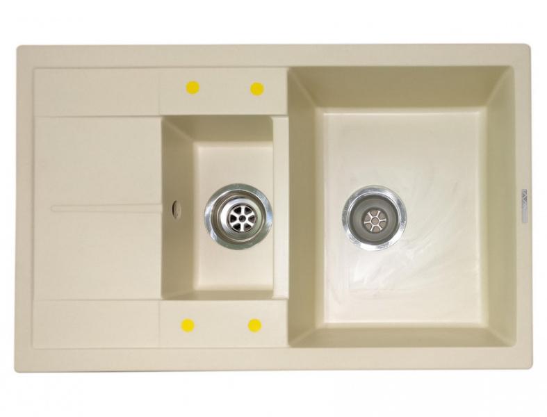 Мойка кухонная Lava D4 кремовый (D4.CRE)