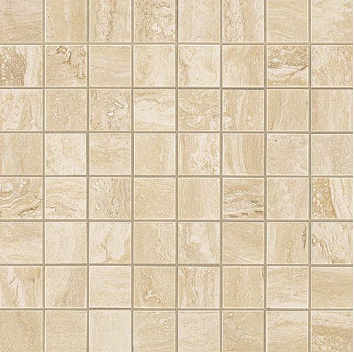 ATLAS CONCORDE MARVEL PRO TRAVERTINO ALABASTRINO MOSAICO LAPPATO 30X30  фото