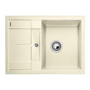 Купить со скидкой Мойка кухонная Blanco Metra 45 S Compact жасмин с клапаном-автоматом (519577)