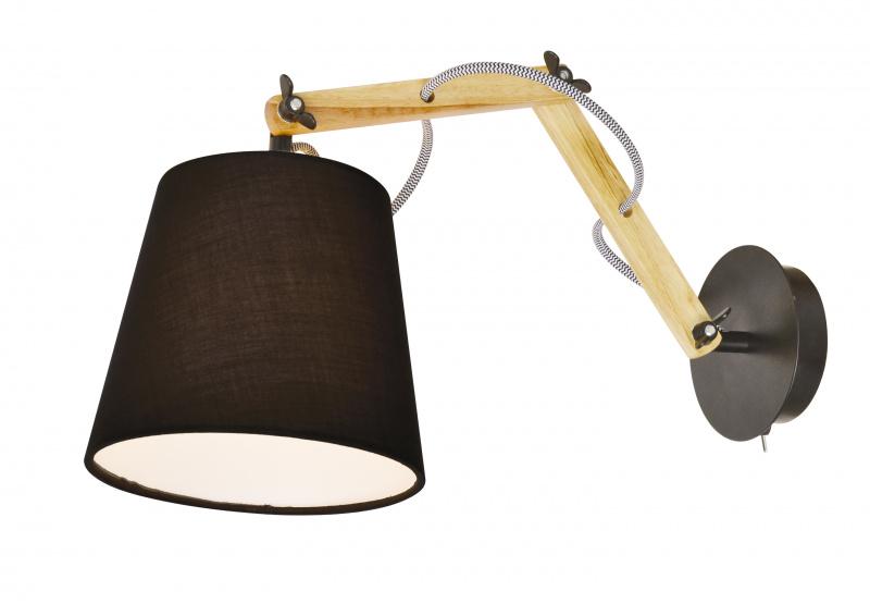 Бра Arte Lamp Pinoccio A5700AP-1BK