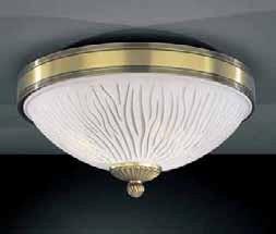 Потолочный светильник Reccagni Angelo silver 5650 PL 5650/2