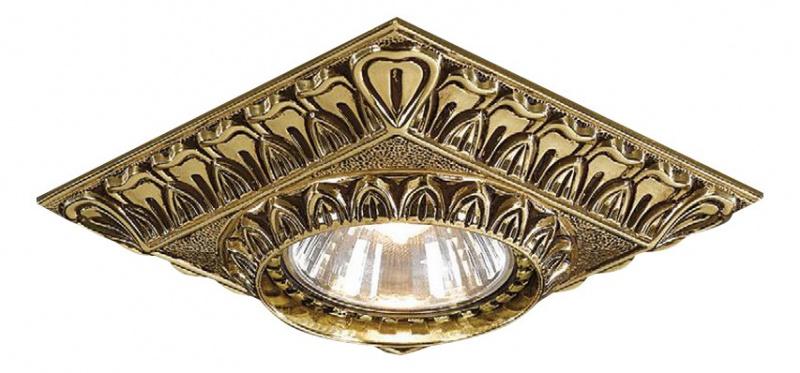 Встраиваемый светильник Reccagni Angelo 1083 SPOT ORO
