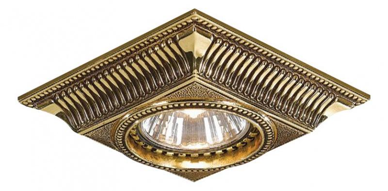 Встраиваемый светильник Reccagni Angelo 1084 SPOT ORO