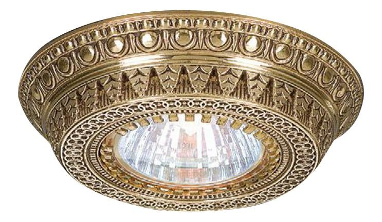 Встраиваемый светильник Reccagni Angelo 1097 SPOT Oro