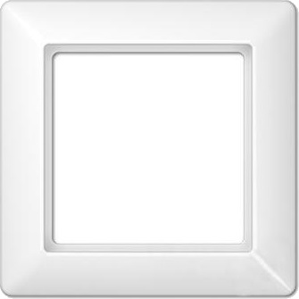 Рамка JUNG EcoProfi EP481/1WW Белый (1 пост)