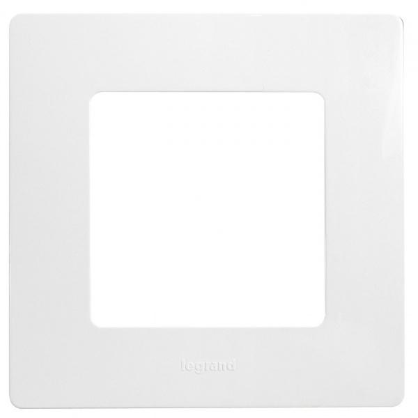 Рамка Legrand Etika 672501 Белый (1 пост)