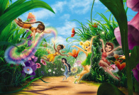 Komar Disney Fairies Meadow 3,68x2,54