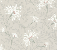 Флизелиновые обои 1838 Wallcoverings Rosemore Fairhaven Grey 1601-101-05