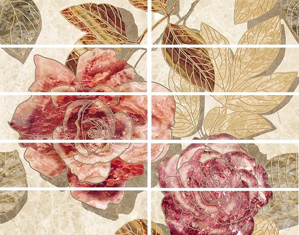Бордюр Ceramica Classic Tile Illyria Flowers 7,5x25 daikin ftxb 25 c rxb 25 c