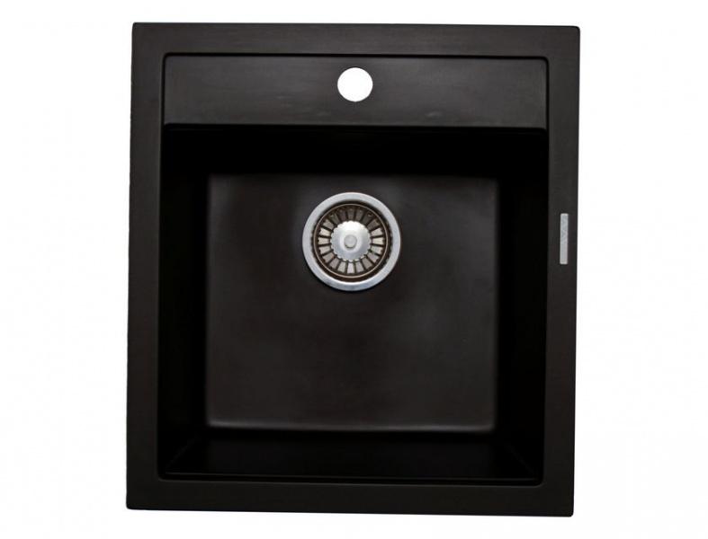 Мойка кухонная Lava Q1 чёрный металлик (Q1.LAV)