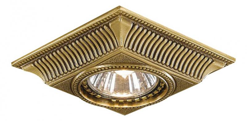 Встраиваемый светильник Reccagni Angelo 1084 SPOT BRONZO