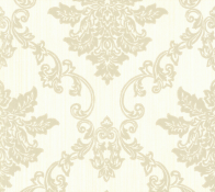 Флизелиновые обои 1838 Wallcoverings Rosemore Hampton Ivory