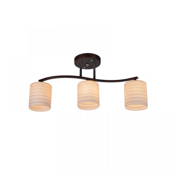 Купить со скидкой Потолочный светильник IDLamp 878 878/3PF-Darkcopper
