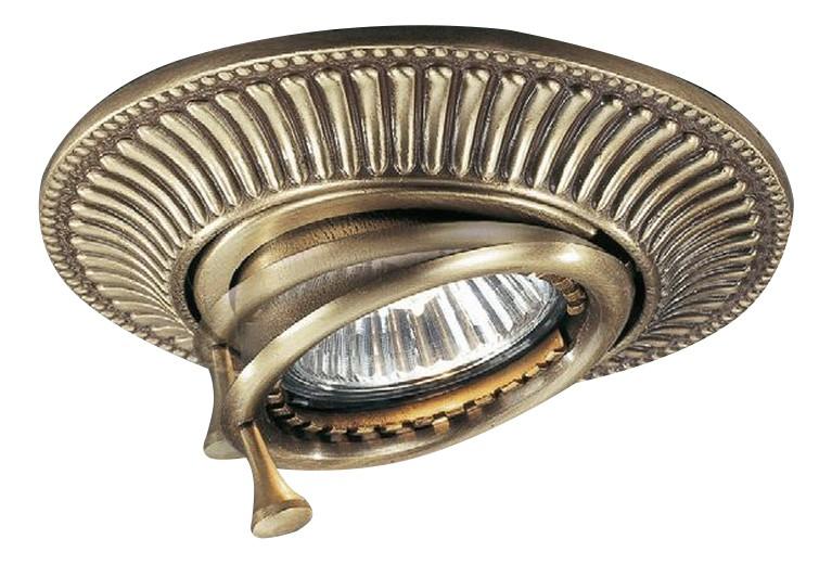 Встраиваемый светильник Reccagni Angelo 1082 SPOT BRONZO
