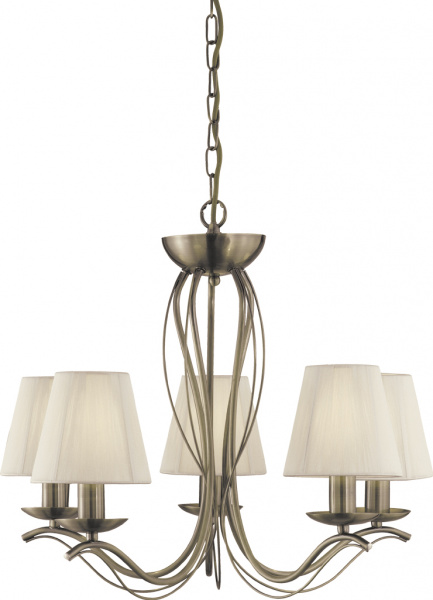 Подвесная люстра Arte Lamp Domain A9521LM-5AB