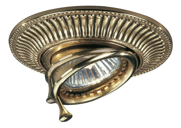 Встраиваемый светильник Reccagni Angelo 1082 SPOT ORO