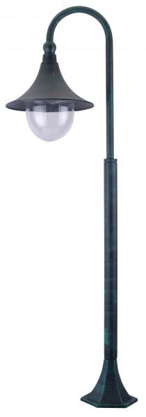 Наземный уличный светильник Arte Lamp Malaga A1086PA-1BG, Италия