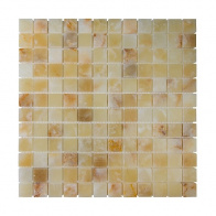 Мозаика Chakmaks Anatolian Stone 23x23 Light Honey Onyx (2,3x2,3) 30,5x30,5