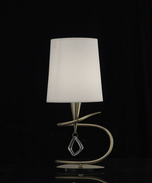 Настольная лампа Mantra Mara Antique Brass 1629, Испания