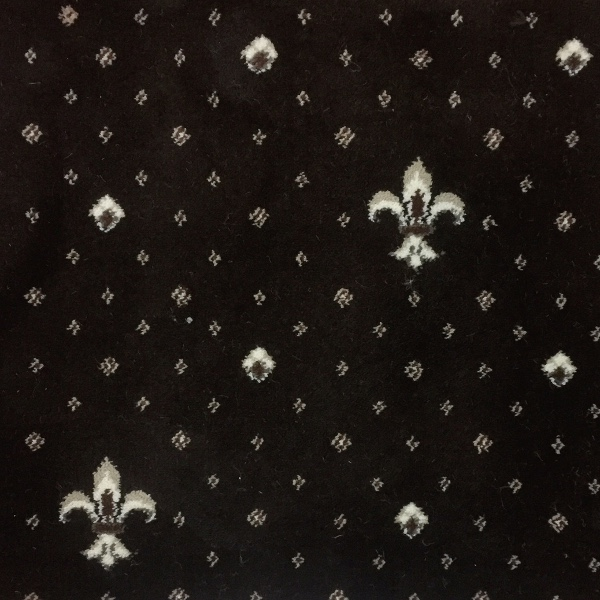 Ковролин Ковротекс Виктория 01-0024 Лилия Темно-Коричневый 4 м