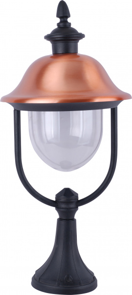 Наземный уличный светильник Arte Lamp Barcelona A1484FN-1BK, Китай (КНР)