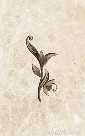 где купить Декор Ceramica Classic Tile Illyria Marrone Dec 25x40 дешево