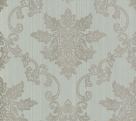 Флизелиновые обои 1838 Wallcoverings Rosemore Hampton Duck Egg