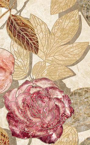 Декор Ceramica Classic Tile Illyria Flowers-2 25x40 декор ceramica classic tile illyria cappuccino dec 25x40