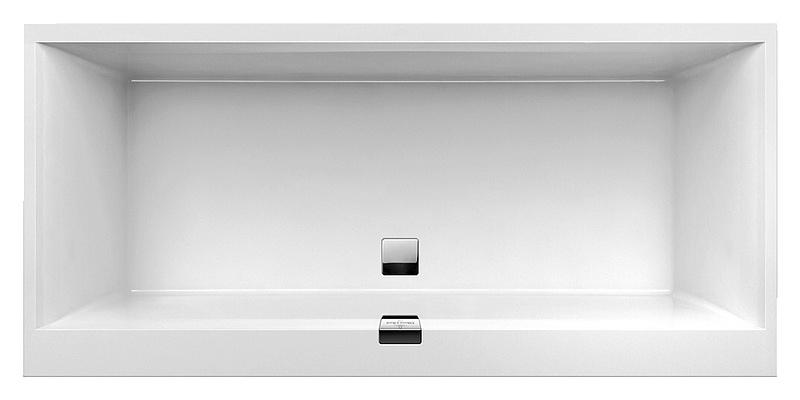 Купить со скидкой Квариловая ванна Villeroy&Boch Squaro Edge 12 UBQ180SQE2DV-01 alpin