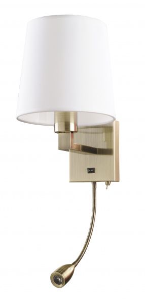 Бра Arte Lamp Hall A9246AP-2AB