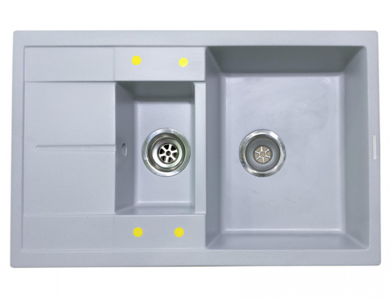 Мойка кухонная Lava D4 серый (D4.SCA)