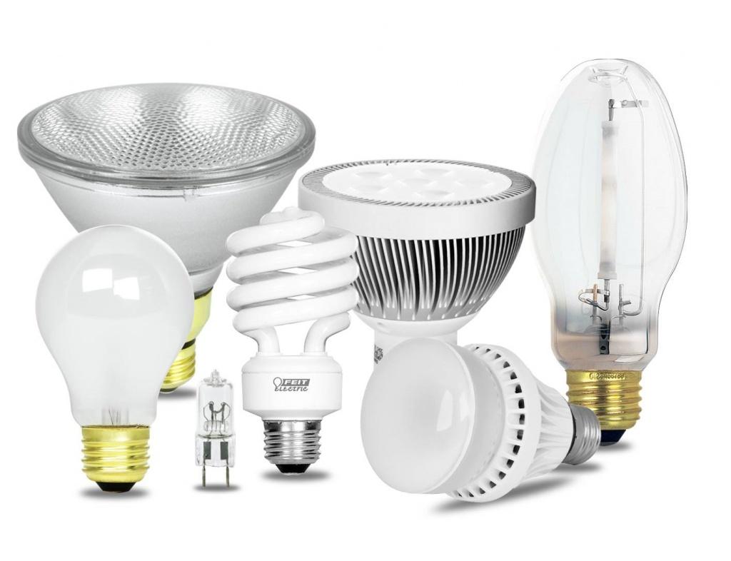 Эффективность различных видов ламп