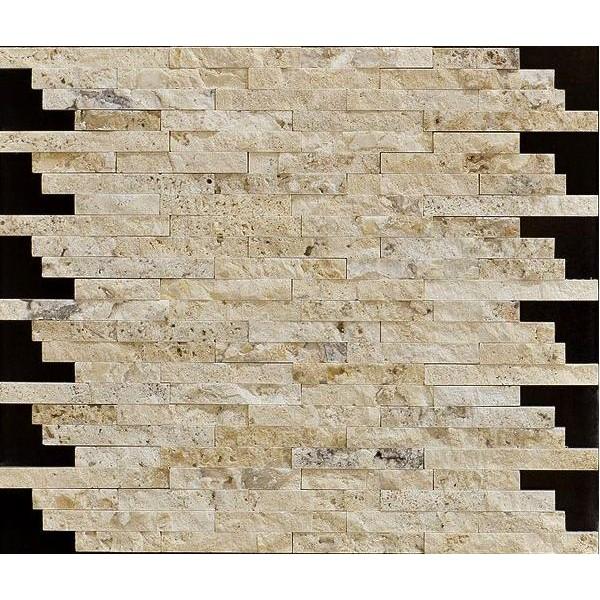 Объемная прямоугольная мозаика толщиной 16 мм