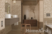 Golden Tile Travertine Mosaic
