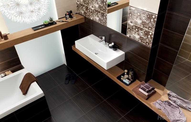 Ванная комната венге фото